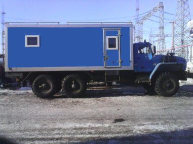 Фургон ТБМ длинный