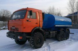 Автоцистерна АЦПТ-10 КамАЗ 43118 новый, навес. 2019г.в.