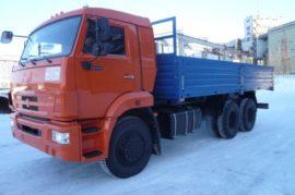 Борт КамАЗ 65115